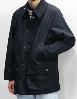 Barbour BEAMS F / 別注 CLASSIC BEDALE ピーチスキン ジャケット