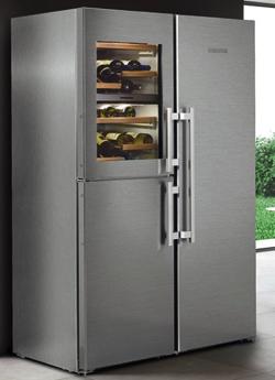 LIEBHERR ステンレス大型冷蔵庫
