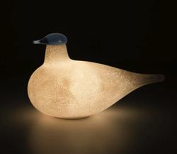 Linnut 充電式ポータブル LEDランプKIRASSI by Oiva Toikka × iittala