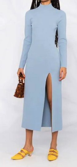 Nanushka Elin ファインニット ドレス