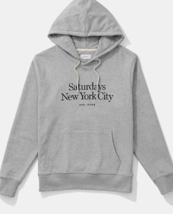 Saturdays NYC Ditch Miller Standard Embroidered Hoodie