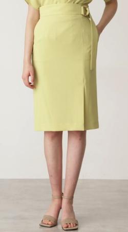 PINKY&DIANNE リネンライクセットアップスカート