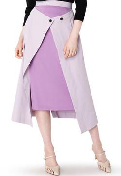 LE CIEL BLEU Twill 2way Skirt