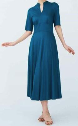 Sybilla ステッチデザインドレス