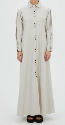 MURRAL Oversized long shirt dress