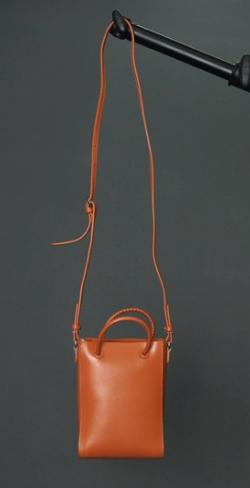 YAHKI W Face Leather Shoulder Bag