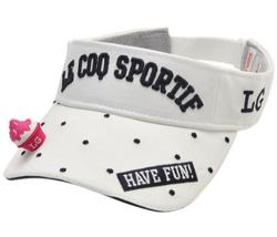 Le coq sportif GOLF かき氷3Dマーカー付きサンバイザー