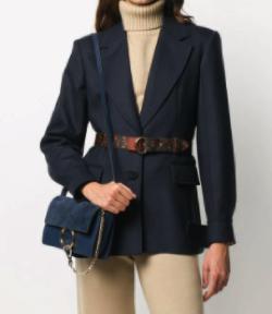 Chloe ウールブレンドジャケット