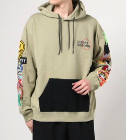 LIBERE LIMITED WAPPEN HOODIE