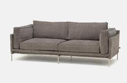 リコカツ インテリア グレーのソファー