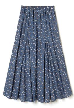 GRL 花柄フレアロングスカート
