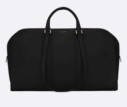 SAINT LAURENT スムースレザーのダッフルバッグ「コミューター」