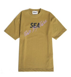 Instagram・Youtube・Weibo木村拓哉(キムタク) イエローのTシャツ