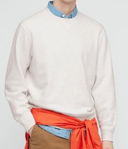 UNIQLO スウェットシャツ