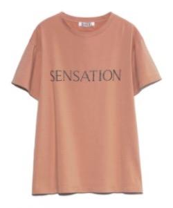 SNIDEL ロゴTシャツ