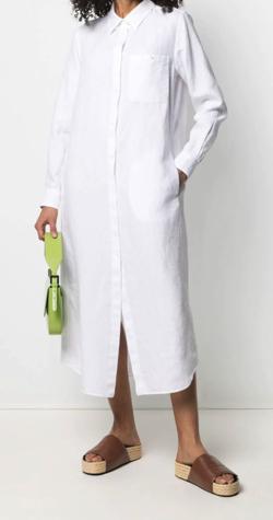 ASPESI ロング シャツドレス