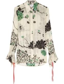 Victoria Beckham フローラルシャツ