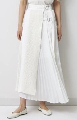 EZUMi(エズミ) カラミプリーツスカート