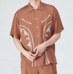 CONVERSE TOKYO 刺繍シャツ