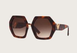 Valentino Eyewear ジオメトリック眼鏡フレーム