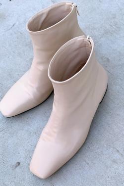 mite square short boots