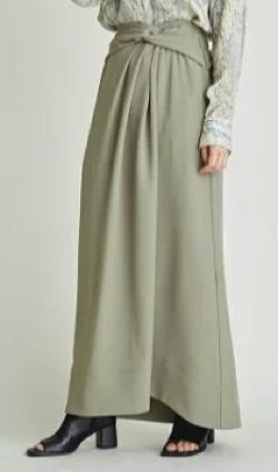 FRAY I.D ツイストデザインスカート