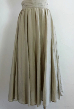 GRACE CONTINENTAL シルクフレアスカート