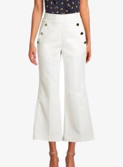kate spade new york sailor denim pants