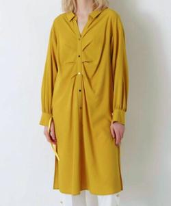 LOVELESS バックディティールシャツドレス
