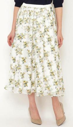 Swingle 3Dフラワースカート