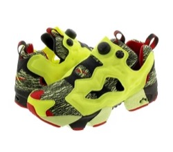 Reebok INSTAPUMP FURY GLITCH NIGHT BLACK/YELLOW FLARE/VECTOR RED