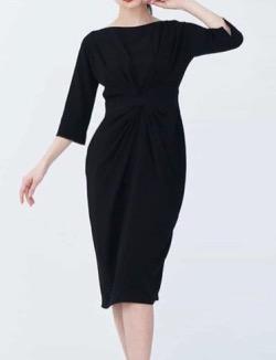 Sybilla(シビラ)センタータックデザインドレス