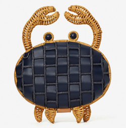 kate spade new york shelly wicker crab