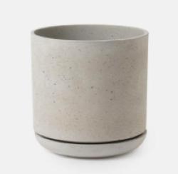 着飾る恋には理由があって(かざ恋) インテリア コンクリートの観葉植物の鉢