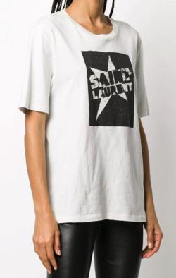 SAINT LAURENT スター Tシャツ
