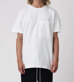 "BEAUTIFUL STRUGGLES T-Shirt ""Pocket"" White"
