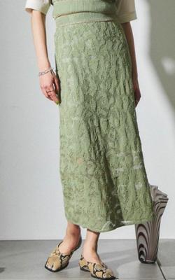 王様のブランチ佐藤栞里 グリーンのスカート