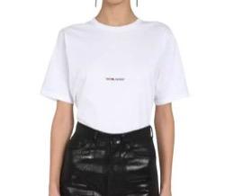 SAINT LAURENT ロゴプリント Tシャツ