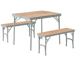 LOGOS ベンチテーブルセット