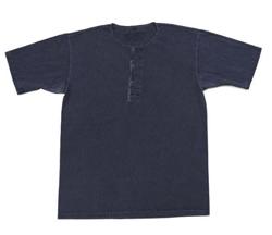 Nigel Cabourn 50'S ピグメント ヘンリーネックTシャツ