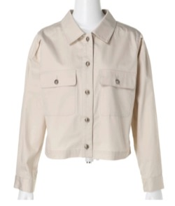 Rirandture ショートシャツジャケット