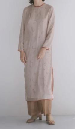 RELDI(レルディ)PRIMITIVE PATTERN DRESS