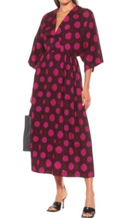 Dries Van Noten (ドリス ヴァン ノッテン)Printed cotton midi dress