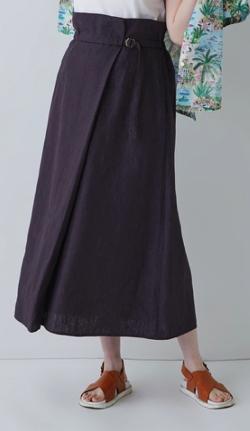 ADIEU TRISTESSE(アデュートリステス) リネンイージースカート