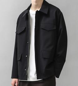 ナイトドクター田中圭 ブラックのジャケット