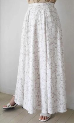 LADYMADE (レディメイド) Marble art フレア スカート