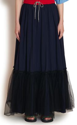 ボクの殺意が恋をした新木優子 ネイビーのスカート