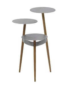 IDC OTSUKA(大塚家具) サイドテーブル(3段) HK+03 ナラ