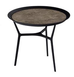 トレイテーブル(丸)HK+02 純銀色