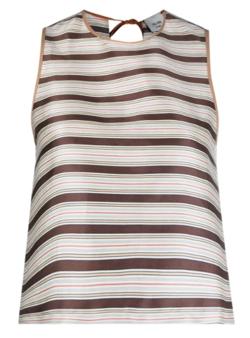 ALYSI stripe-print vest